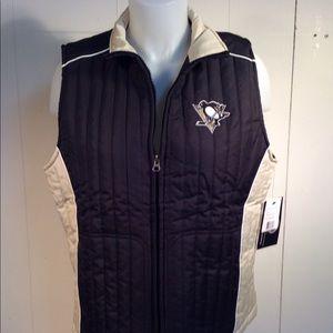 NHL Pittsburgh Penguins vest women's size Large